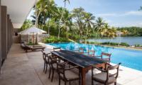 Villa Serendipity Open Plan Dining Area | Koggala, Sri Lanka