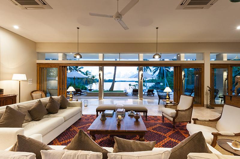 Villa Serendipity Living Room | Koggala, Sri Lanka