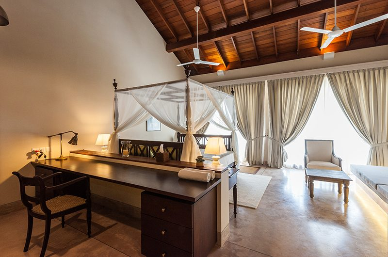 Villa Serendipity Bedroom with Study Table   Koggala, Sri Lanka