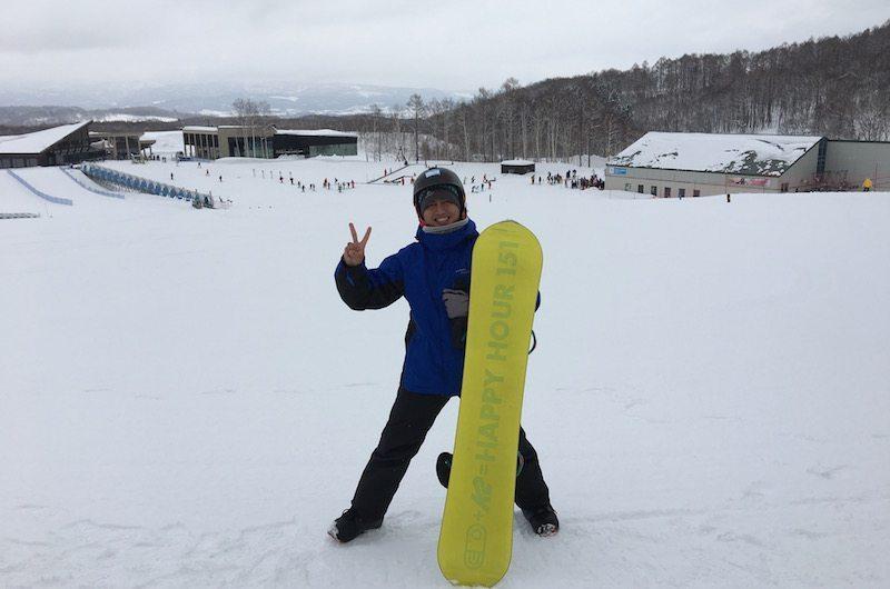 Learning to Ski in Hanazono