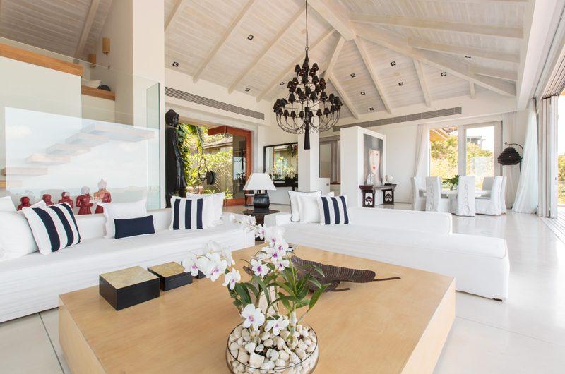 Villa Michaela Living Room   Koh Samui, Thailand