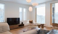 Chalet Luma Living Room | Hirafu, Niseko
