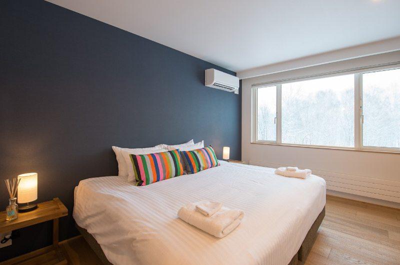 Chalet Luma Master Bedroom | Hirafu, Niseko