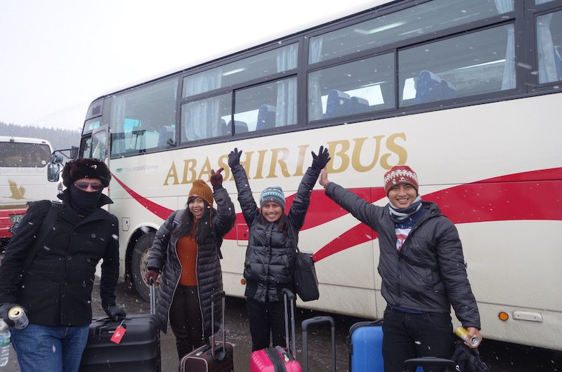 How to Get from Chitose Airport to Niseko by Bus