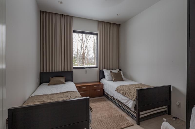 Yanagi House Twin Bedroom | Hokkaido, Niseko