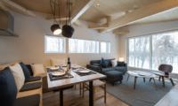 Yorokobi Lodge Living And Dining Area | Hirafu, Niseko
