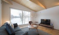 Yorokobi Lodge Living Area | Hirafu, Niseko