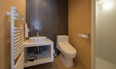Yorokobi Lodge En-suite Bathroom | Hirafu, Niseko