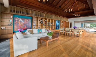 The Aquila Living And Dining Area | Phuket, Thailand