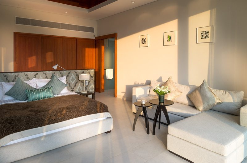 The Aquila Bedroom Seating Area | Phuket, Thailand