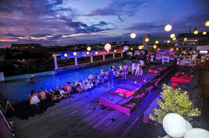 101 Rooftop Bar Legian Bali