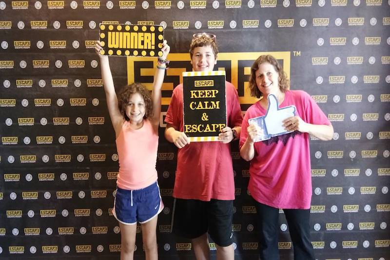 Escape Room Bali offers great fun when visiting Bali with kids!