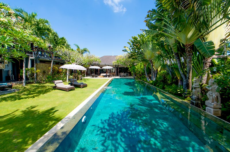 Swimming pool of Chimera Villas in Seminyak, Bali