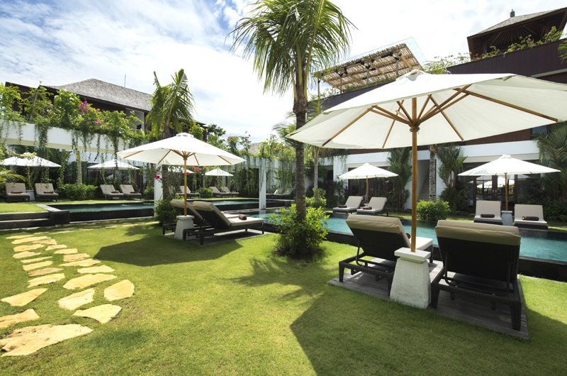Swimming pool of Anam Villa in Seminyak, Bali