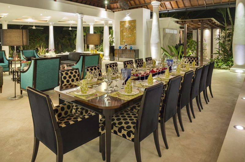 Uma Wana Prasta Living and Dining Area | Canggu, Bali