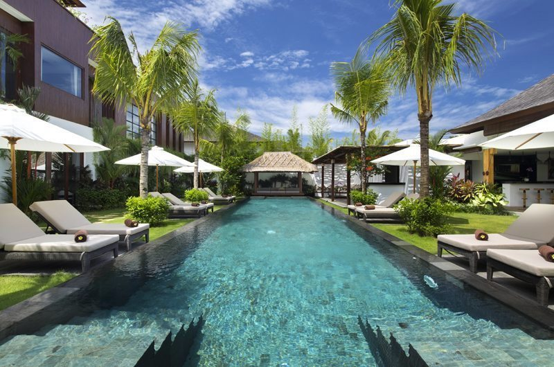 Swimming pool of Villa Anam in Seminyak, Bali