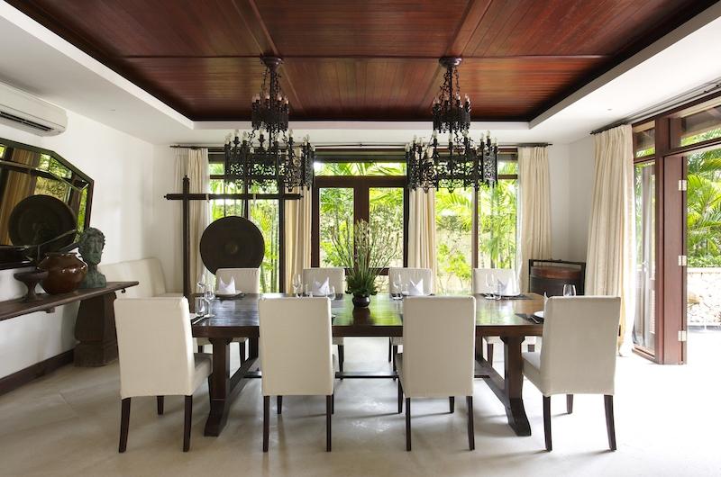 Villa Santai Sorga Open Plan Dining Area | Ungasan, Bali