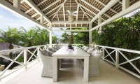 Villa Tamarama Upstairs Dining   Ungasan, Bali