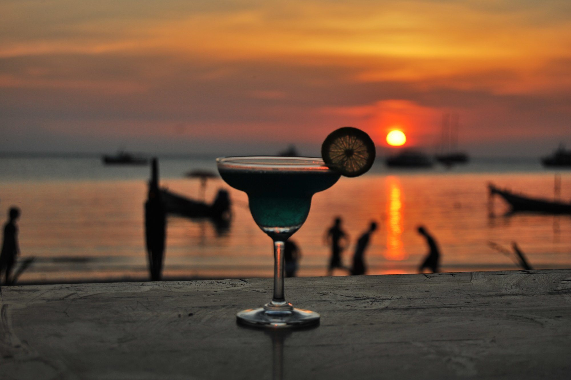 Where to Have a Sunset Cocktail in Gianyar?