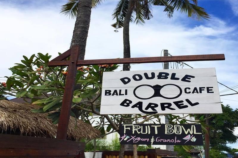 Double Barrel Cafe The Colonial - restaurants in Padang Bai, Bali
