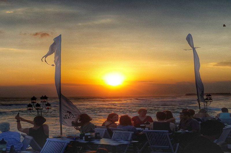 Echo Beach Restaurant and Bar Pererenan Bali
