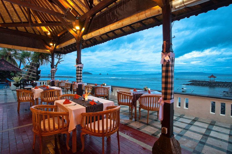 Least Beach Restaurant Candidasa Bali