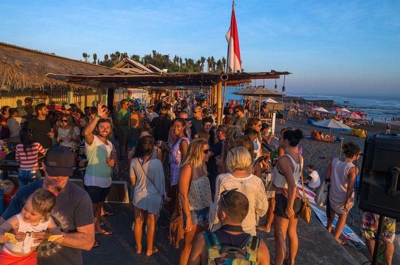 O'three Beach Bar Pererenan Bali