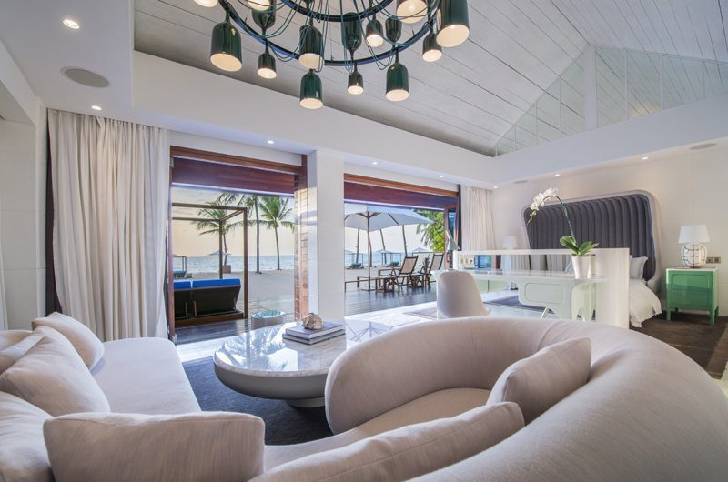 Iniala Beach House Collector's Villa Pool Side Living Area | Natai, Phang Nga