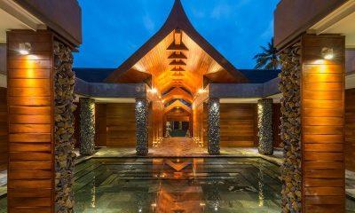 Iniala Beach House Collector's Villa Entrance   Natai, Phang Nga