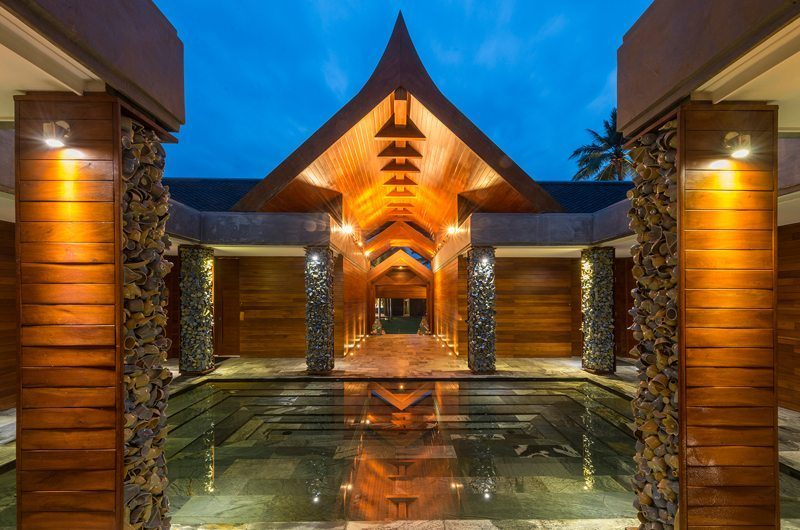 Iniala Beach House Collector's Villa Entrance | Natai, Phang Nga