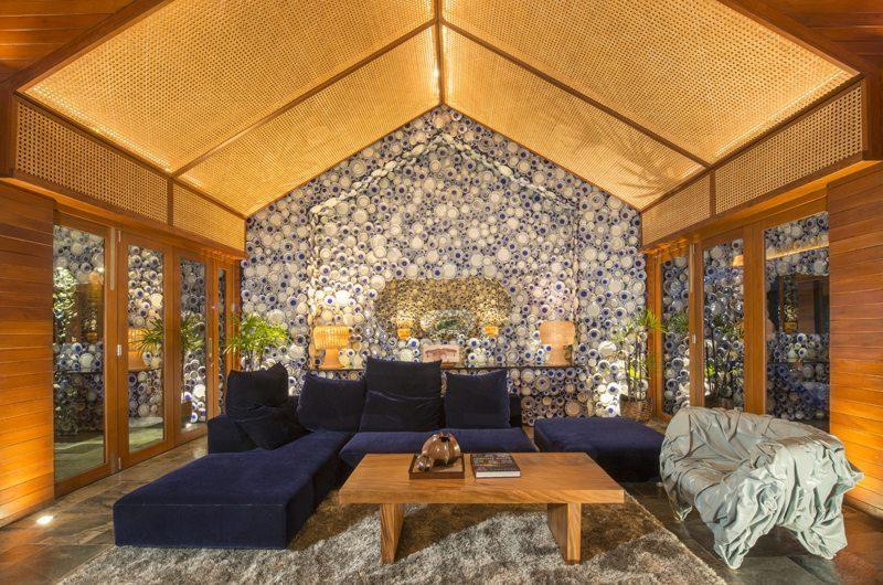 Iniala Beach House Collector's Villa Lounge Area   Natai, Phang Nga