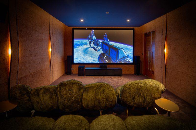 Iniala Beach House Collector's Villa Media Room | Natai, Phang Nga