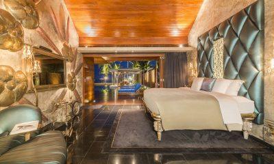 Iniala Beach House Collector's Villa Master Bedroom with Pool View | Natai, Phang Nga