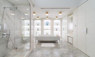 Iniala Beach House Collector's Villa Bathroom | Natai, Phang Nga