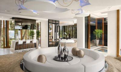 Iniala Beach House Iniala Penthouse Living and Dining Area | Natai, Phang Nga