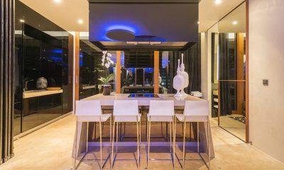 Iniala Beach House Iniala Penthouse Kitchen and Dining Area | Natai, Phang Nga