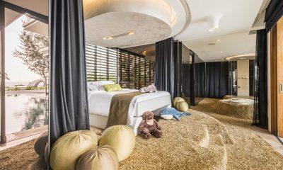Iniala Beach House Iniala Penthouse Pool Side Bedroom | Natai, Phang Nga