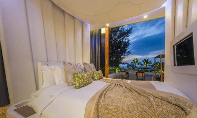 Iniala Beach House Iniala Penthouse Bedroom View | Natai, Phang Nga