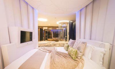 Iniala Beach House Iniala Penthouse Bedroom | Natai, Phang Nga