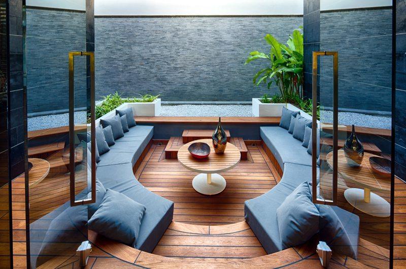 Iniala Beach House Villa Bianca Living Room   Natai, Phang Nga