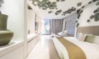 Iniala Beach House Villa Siam Bedroom with TV | Natai, Phang Nga