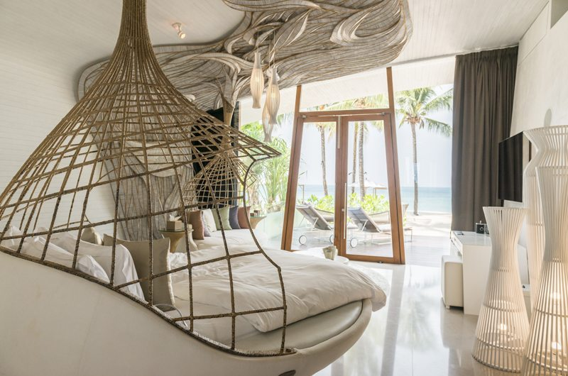 Iniala Beach House Villa Siam Master Bedroom with Sea View | Natai, Phang Nga