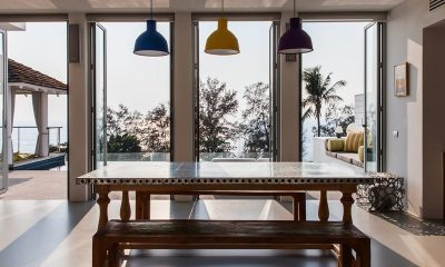 Villa Sammasan Dining Area With View | Surin, Phuket