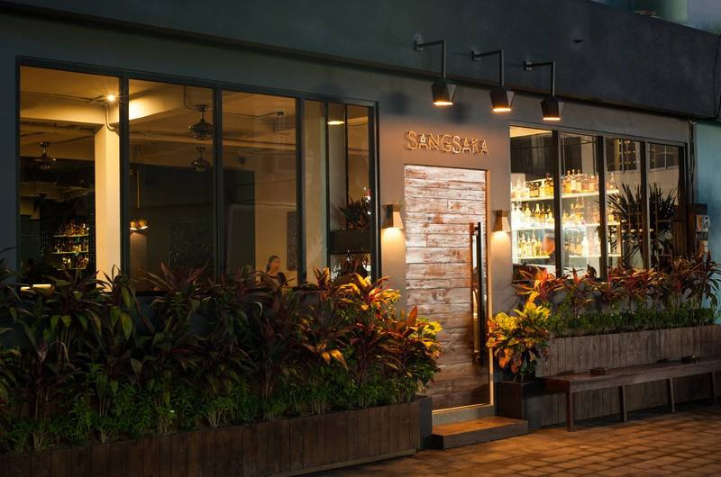 Sangsaka Restaurant Kerobokan Bali