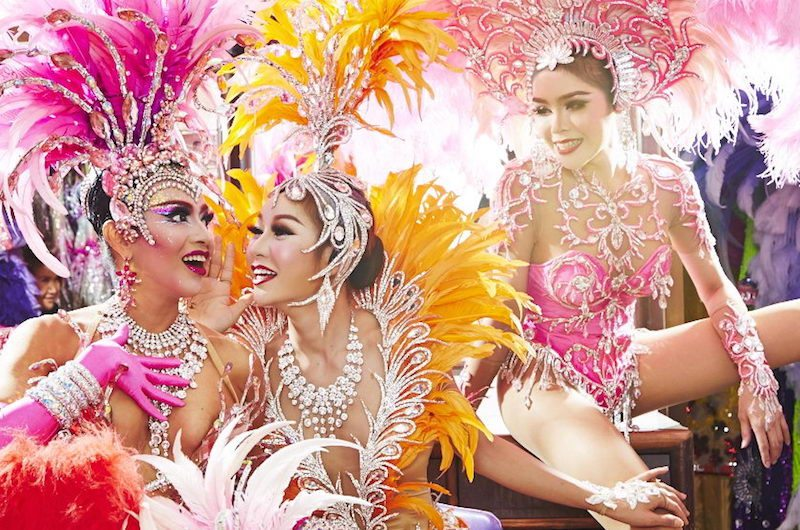 Visiting the flamboyant Simon Cabaret is one of the best things to do in Phuket! Read the full article to find out what else the beautiful island of Phuket, Thailand has to offer!
