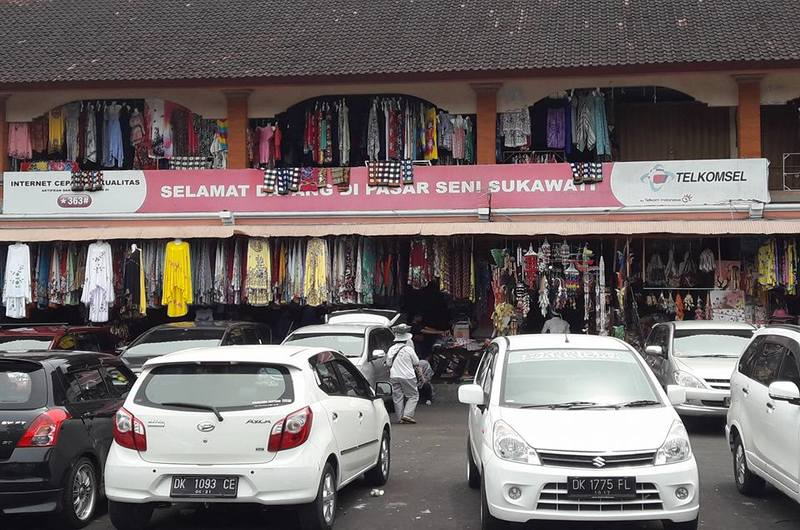 Sukawati Art Market Gianyar Bali
