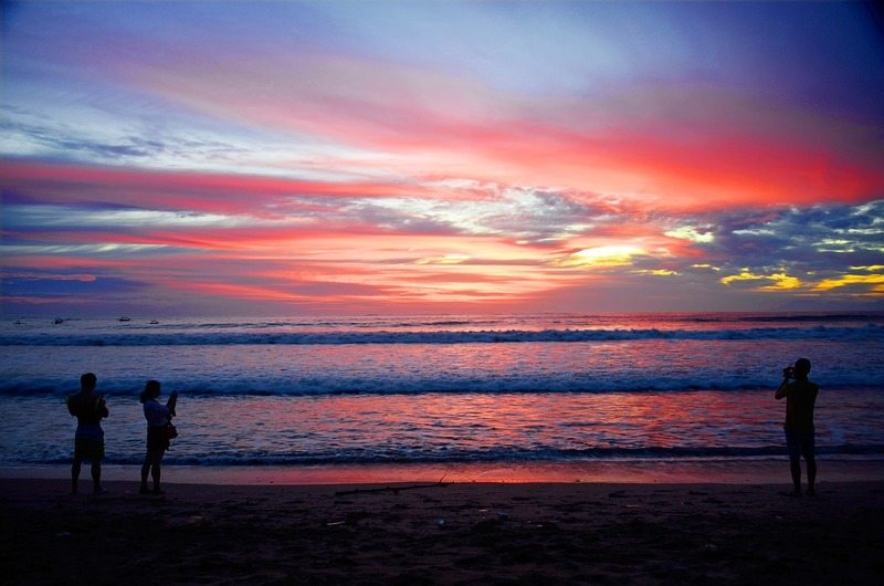 Looking for things to do in Seminyak on a budget? Catching a magical sunset on the beach is just one option - check out this article for seven free things to do in Seminyak, Bali!