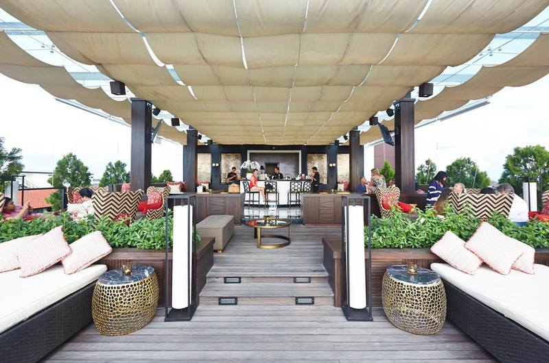 The 18th Rooftop - bars in Kerobokan, Bali