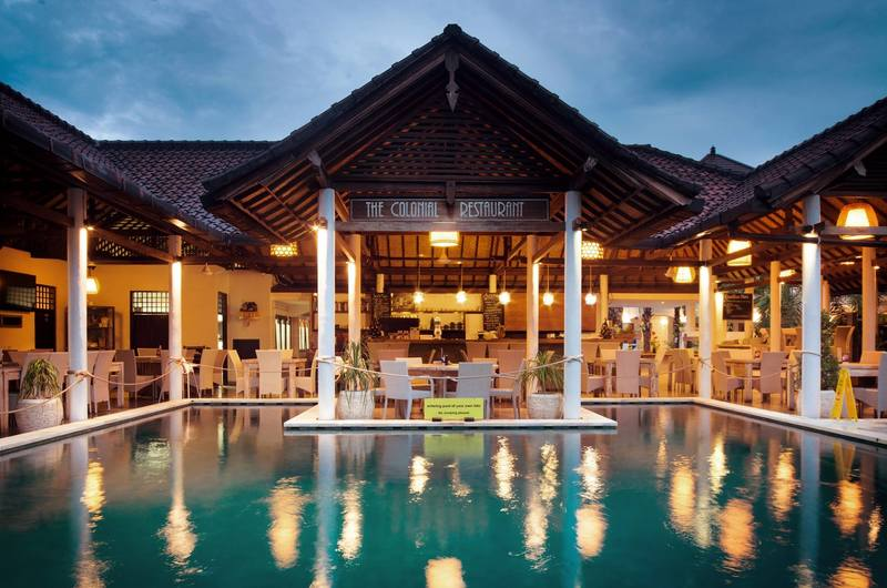 The Colonial - restaurants in Padang Bai, Bali