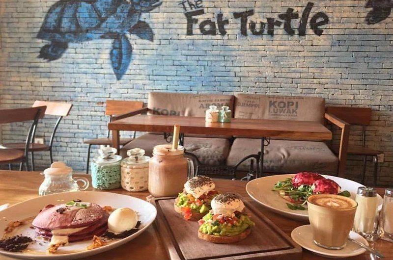The Fat Turtle Restaurant Petitenget Bali